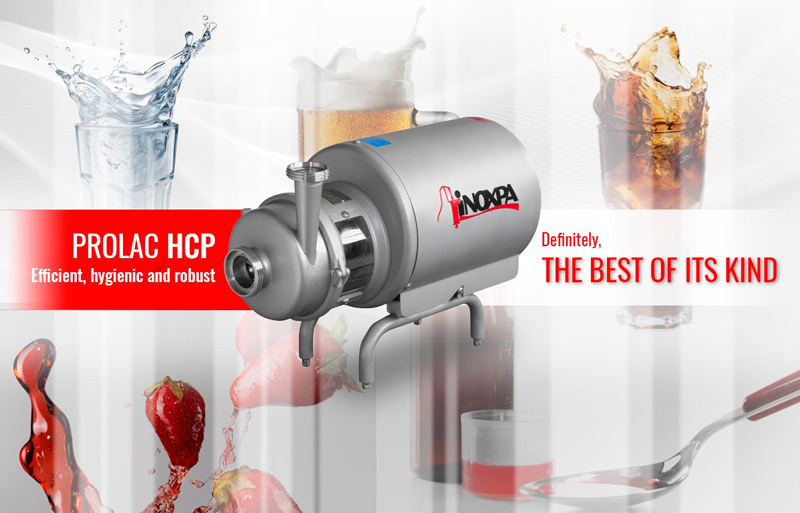 PROLAC HCP pump: Efficient, hygienic and robust